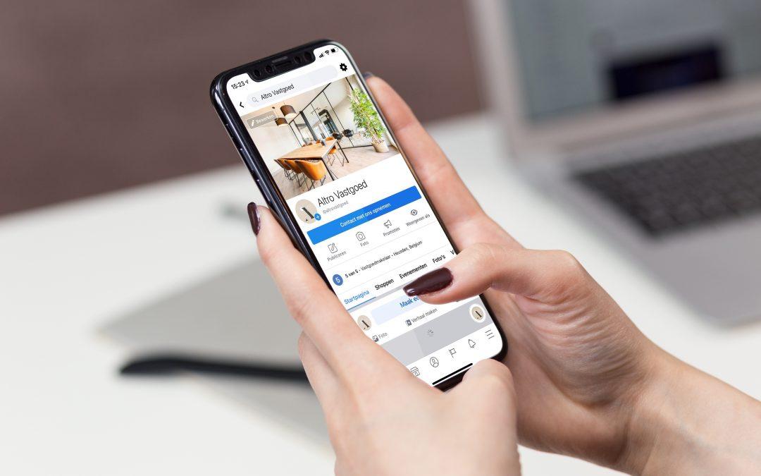 Mag je op een huis bieden via sms of WhatsApp?